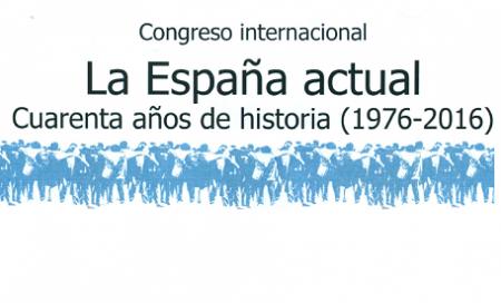 EL SEFT EN EL CONGRESO INTERNACIONAL: LA ESPAÑA ACTUAL.CUARENTA AÑOS DE HISTORIA