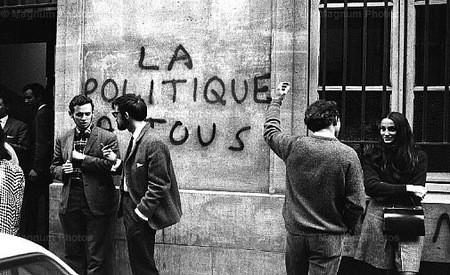 Colaboración sobre el mayo del 68