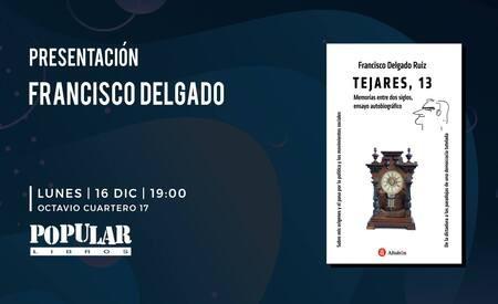 Presentación del libro de Francisco Delgado