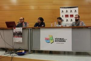 Ángel Luis López, Damián González, Máximo Molina y Alfonso Villalta