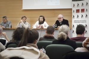 IX JONADAS-Rubí Sanz, Luis G. García Sahúco, Manuel Luna y Manuel Ortiz