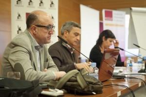 X JORNADAS-Ana Valero, Ángel Luis López y Manuel Ortiz