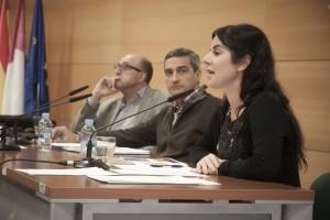 X JORNADAS-Ana Valero, Ángel Luis López y Manuel Ortiz2