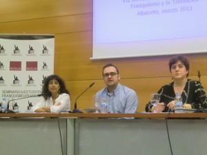VII JORNADAS-Mónica Moreno, Anabella Barroso y Óscar Martín