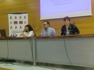 VII JORNADAS-Mónica Moreno, Anabella Barroso y Óscar Martín2