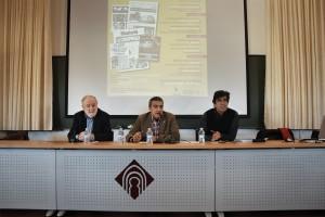 VIII JORNADAS Diego Carcedo, José Reig y Manuel Ortiz