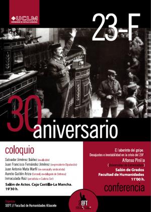 COLOQUIO Y CONFERENCIA 30 ANIVERSARIO 23-F